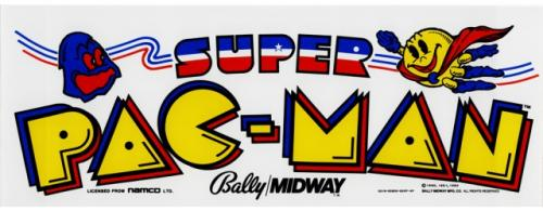 super-pacman marquee 23x9